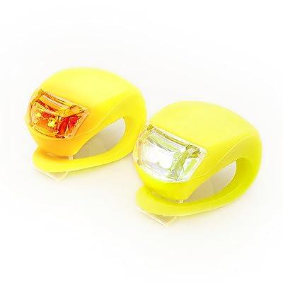 ryno froglite?Neon Amarillo Silicona LED Juego de luz