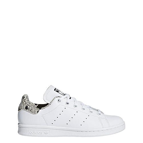 new style 2dd8d 1e72b Adidas Stan Smith J, Zapatillas de Deporte Unisex Niños Amazon.es Zapatos  y complementos