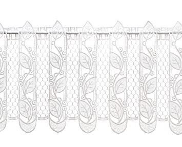 Scheibengardine Bistrogardine Josephine 60 x 90 cm Shabby Landhaus weiß