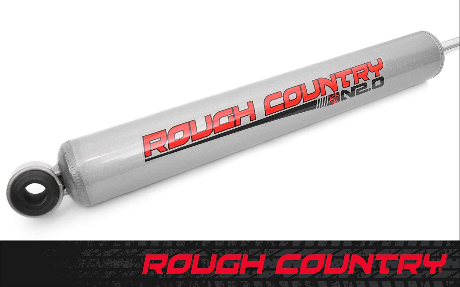 Silverado 2500 HD 2001-2010 N2.0 Rear Shock Absorber 0-3 20135 Rough Country Shock Absorber Fits Chevy