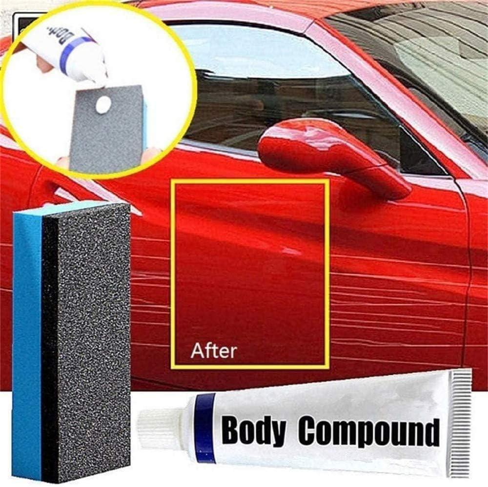 2Pack r/éparez facilement les marques de rayures de peinture les taches deau compos/é de meulage de carrosserie de voiture Ensemble innovant de dissolvant d/éraflures de voiture 2020