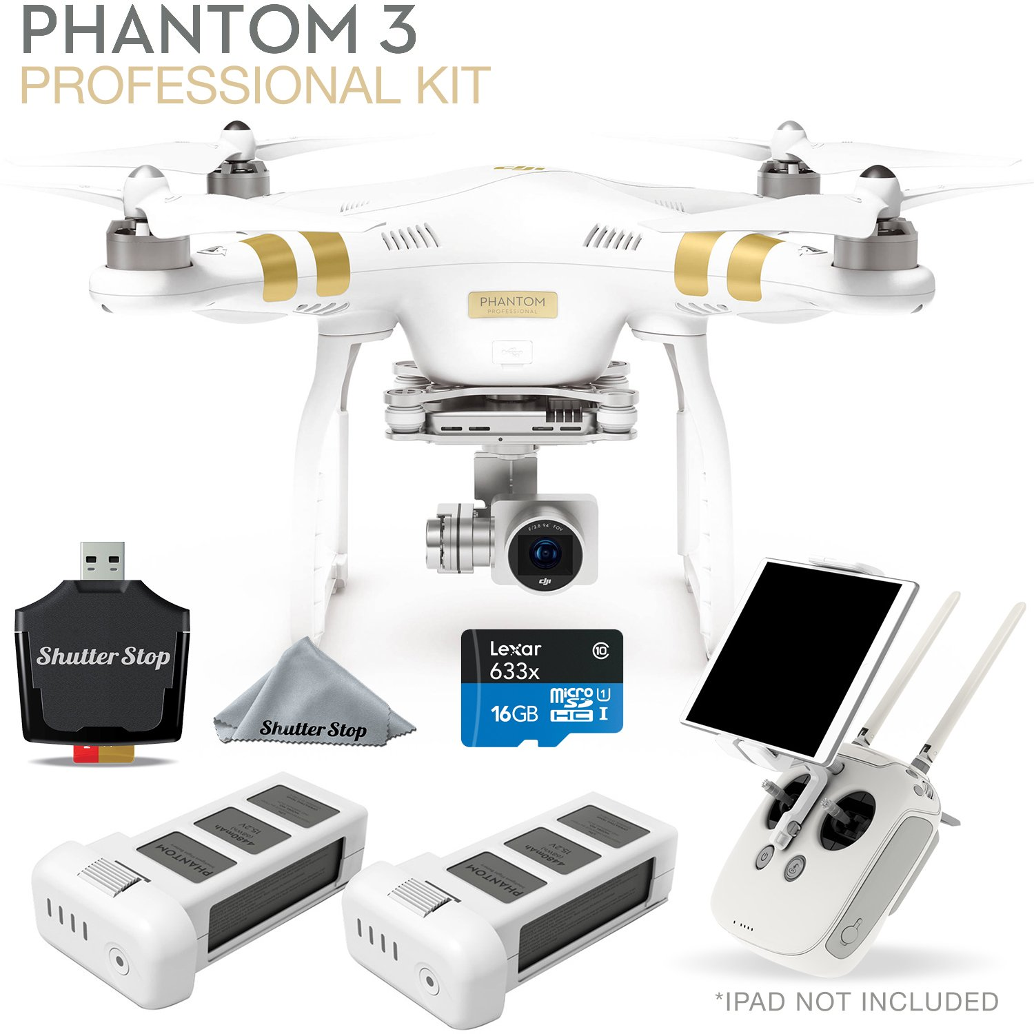 DJI Phantom 3 Professional Starters Kit