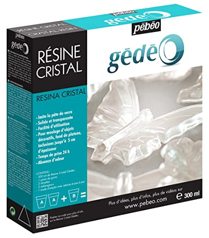 Gedeo 300 ml Crystal Resin, Transparent