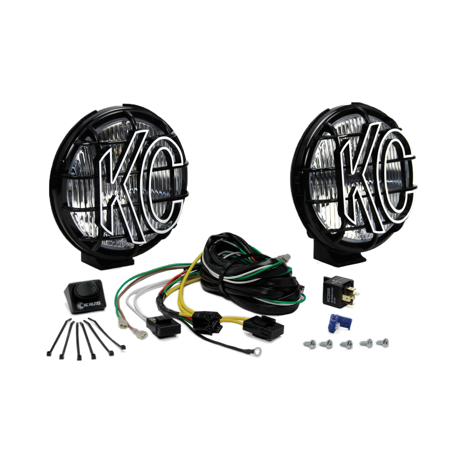 KC HiLiTES 152 Apollo Pro 6'' 100w Fog Light System by KC HiLiTES