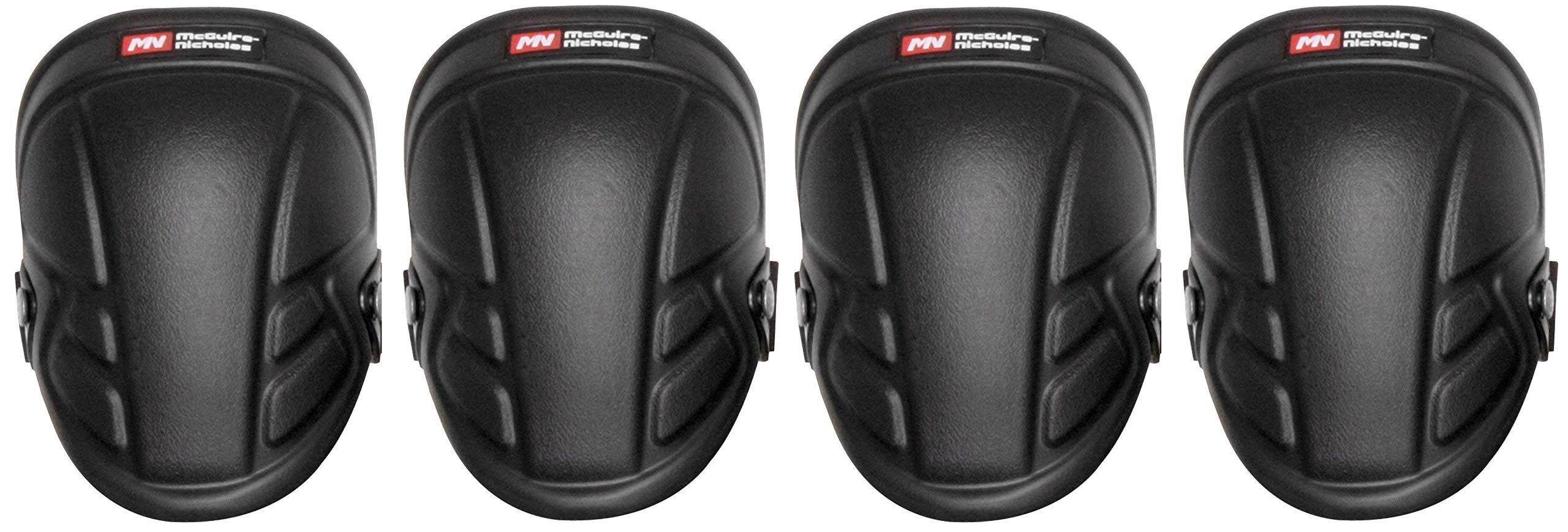 McGuire-Nicholas 1Mn-350 Tuff Shell Kneepads Heavy Duty Foam Padding For Construction, Gardening & Flooring (Fоur Paсk)