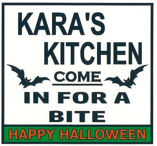 Amazon Com Kara S Kitchen Halloween Magnet Come In
