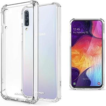 Moozy Funda Silicona Antigolpes para Samsung A50, Galaxy A50 ...
