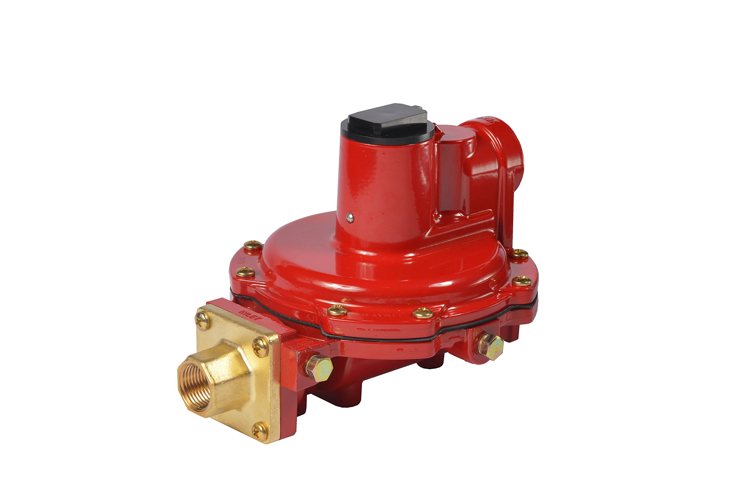 Emerson-Fisher LP-Gas Equipment R622H-HGJ First Stage Regulator, 8-12 psig Spring, POL x 1/2'' NPT by Emerson-Fisher LP-Gas Equipment (Image #1)