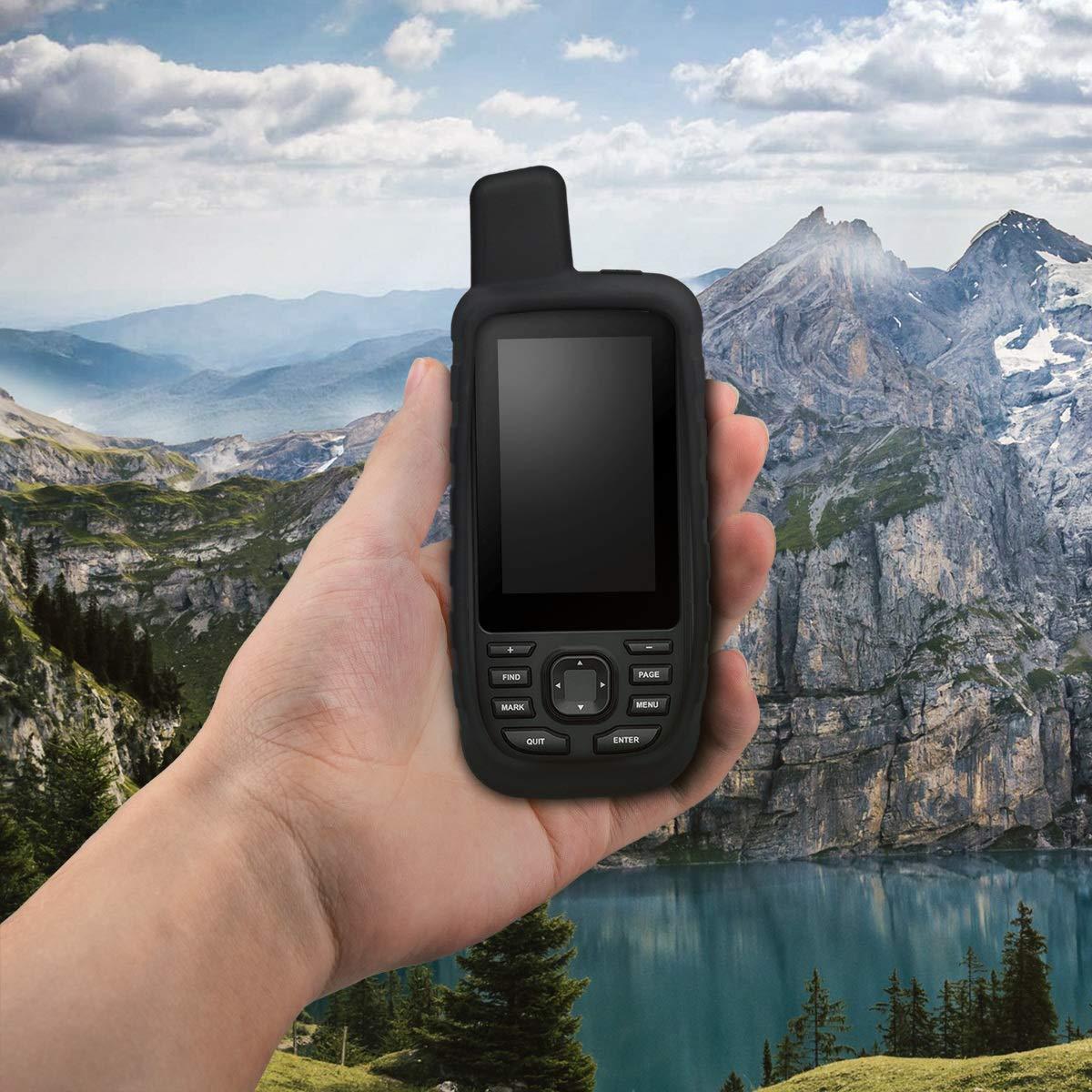 Protezione navigatore 66st Custodia protettiva antiscivolo per dispositivi GPS di navigazione kwmobile Cover in silicone per Garmin GPSMAP 66s