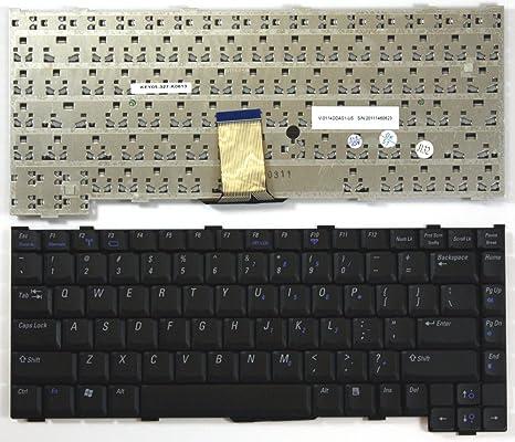 Keyboards4Laptops DELL NSK-D6001 Negro Layout Estados Unidos Teclado para Ordenador portátil