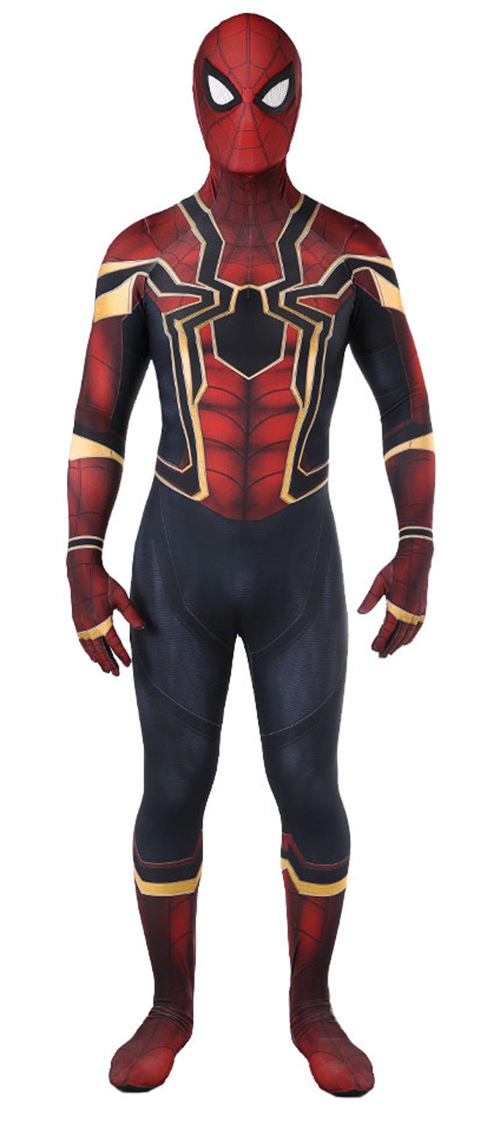 - 712A01ZFR L - Legends Superhero Cosplay Costumes Lycra Spandex Zentai Halloween Costumes Adult/Kids 3D Style