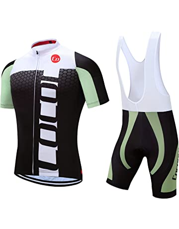Coconut Ropamo Pro Team Summer Men s Cycling Jersey Set Bib Shorts with 3D  Padded Cycling Kits 7572d850c
