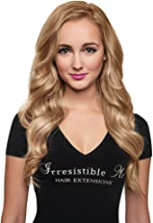IRRESISTIBLE ME 1 piece Clip in Hair Extensions Golden Blonde (Color #14) -
