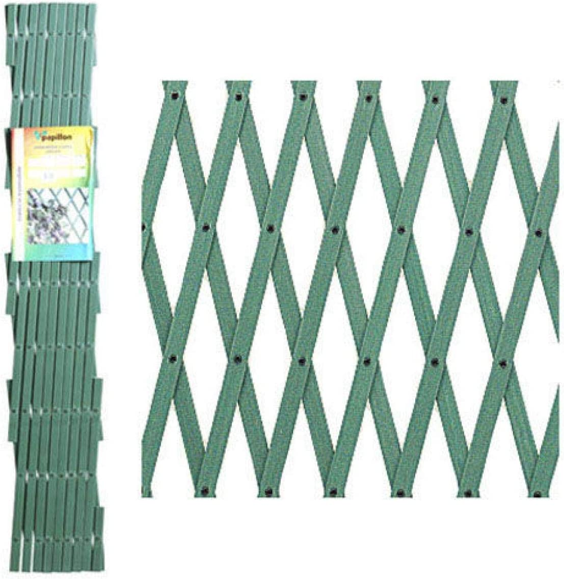 Papillon 8091545 Celosia PVC Verde Extensible 3x1 Metros, 3x1m ...