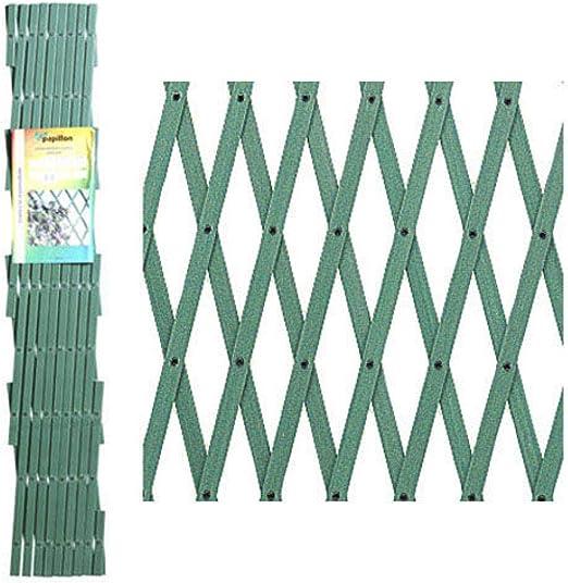 PAPILLON 8091545 Celosia PVC Verde Extensible 3x1 Metros, 3x1m: Amazon.es: Jardín