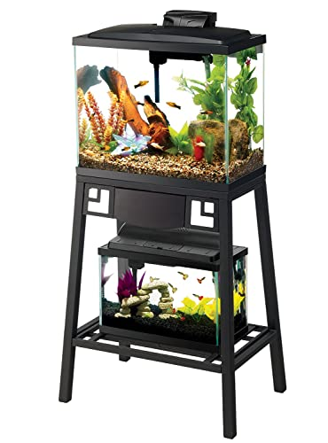 Best 10 gallon aquarium stands for both glass or acrylic ... 10 Gallon Fish Tank Stand Metal
