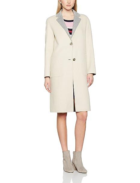 Tommy Hilfiger New Giselle DF Reversible Wool Coat, Abrigo para Mujer: Amazon.es: Ropa y accesorios