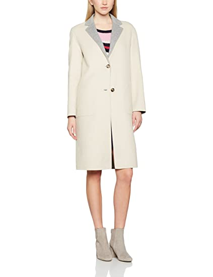 ee649ca5b Tommy Hilfiger Women s New Giselle Df Reversible Wool Coat  Amazon.co.uk   Clothing
