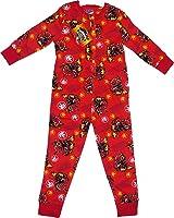 Onesies - Childrens Boys and Girls Long Sleeve Character Pyjamas Pjs Onesie- Age 3 - 10 years Spiderman Star Wars Angry Birds Superman Batman Minnie Mouse skylanders 5-6