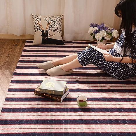 alfombra Mesa de Centro esteras Dormitorio Junto a la Cama de Tejido Felpudo Baño Minimalista Moderna