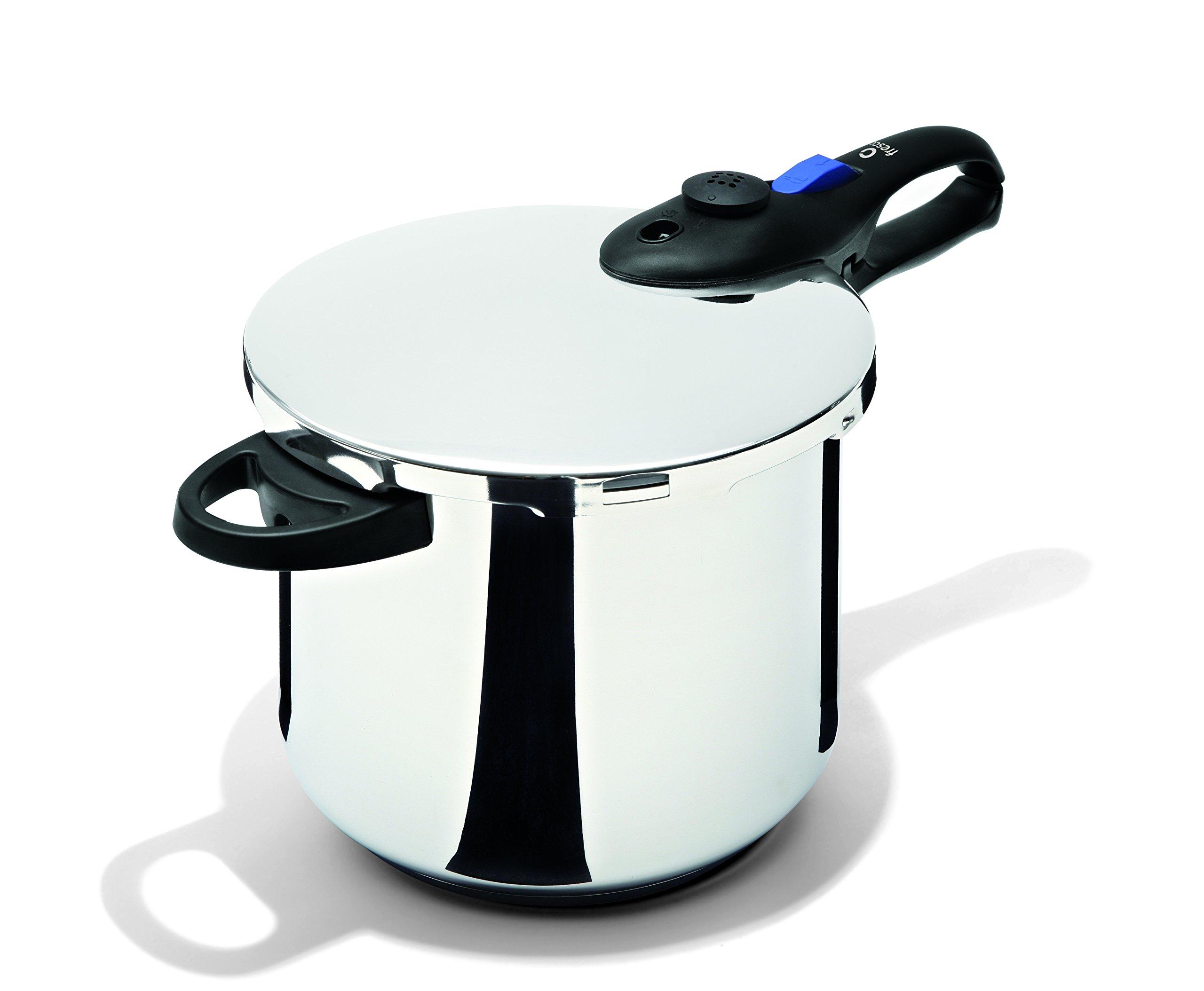 Fresco Pressure Cooker, 8 quart, Stainless Steel