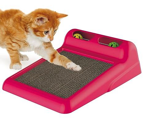 Cat Centre Alfombrilla de rascador de Cartón Corrugado para Gatos ...