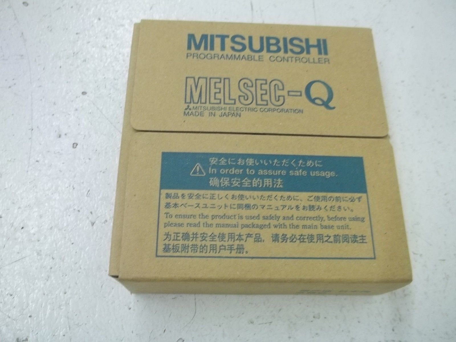 MITSUBISHI ELECTRIC QX42 Input Modules (DC positive common (sink))(64 Points) NN