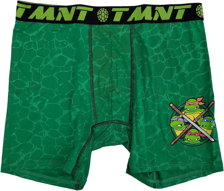 Teenage Mutant Ninja Turtles Action Underwear Graphic Boxer Briefs