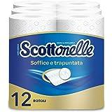 Scottonelle Toilet Tissue, 12 Rolls