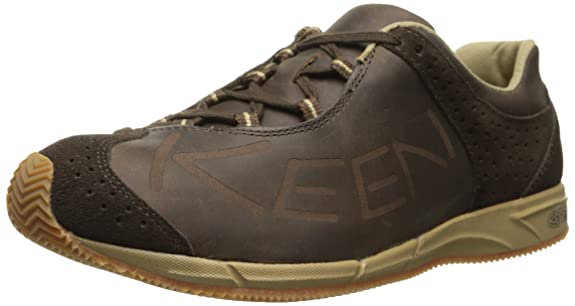 KEEN Men's A86 Leather Shoe, Cascade Brown, 7.5 M US