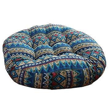 sitzkissen boden retro verdicken baumwolle leinen kissen futon runde a8 bodenkissen lounge