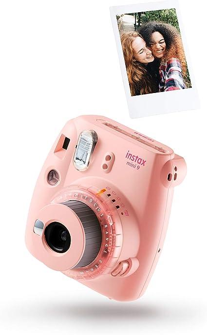 Instax Mini 9 Clear Pink Incl Film Für 10 Aufnahmen Kamera