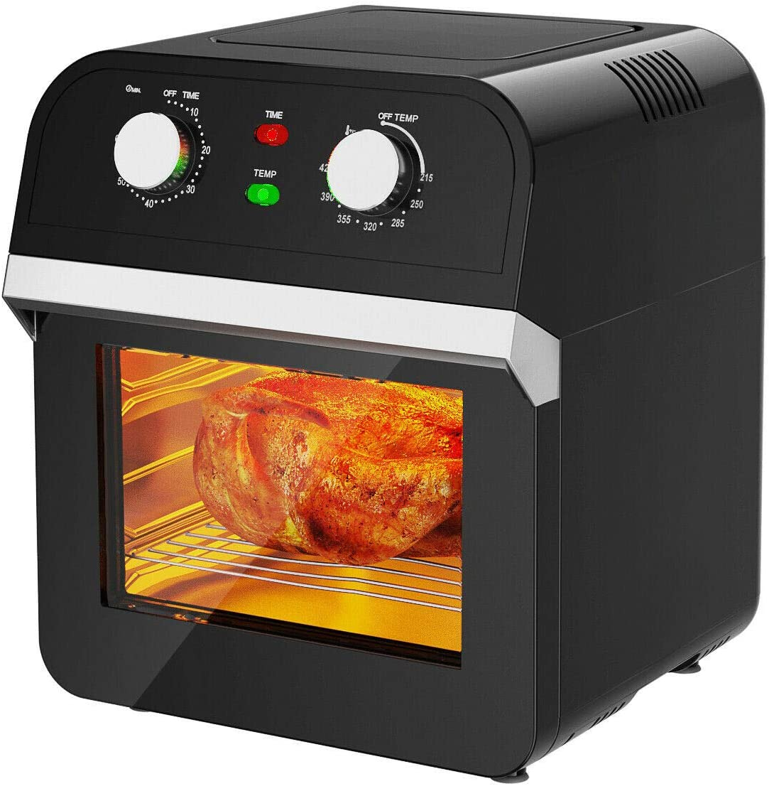 ARLIME Air Fryer, Convection Toaster Oven, 12.7QT, 1600W, Convection Roaster with 10 Accessories