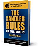 The Sandler Rules for Sales Leaders