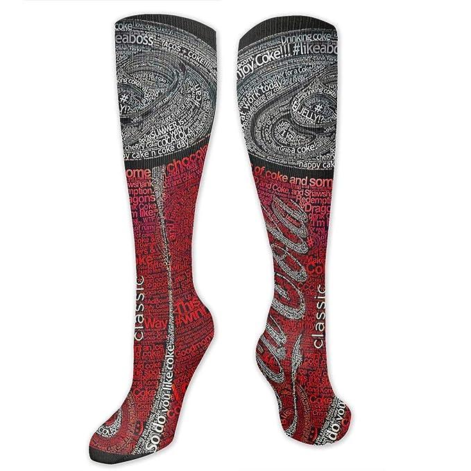 Amazon.com: Calcetines largos de rodilla alta con impresión ...