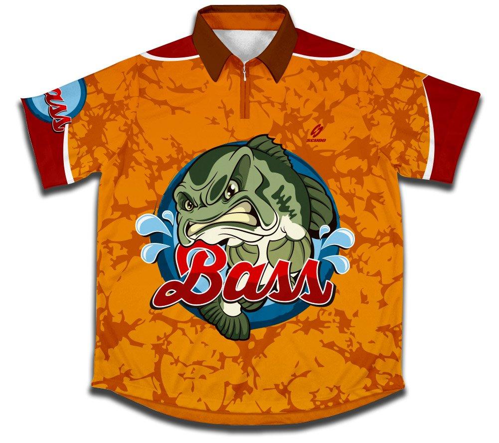 ScudoPro Bass Hemd des Sportlichen Fischfangs