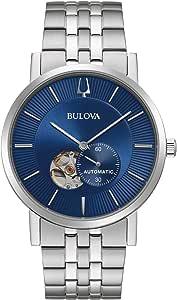 Bulova American Clipper Automatic Blue Dial Men's Watch 96A247