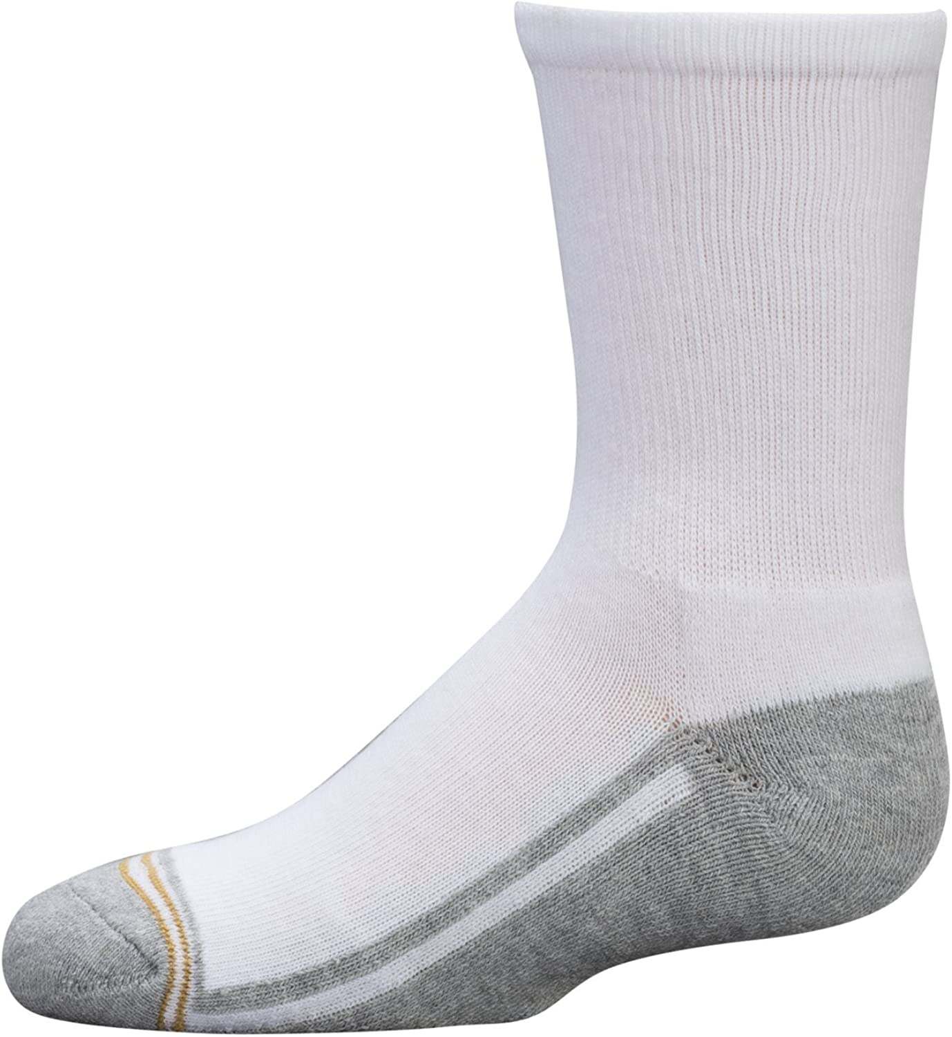 Gold Toe Big Boys' Athletic Crew Sock Six-Pack: Clothing