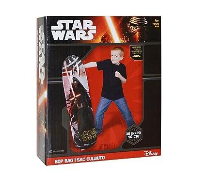 Amazon.com: Star Wars The Force Awakens Bop Bag Punching Bag ...