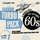 Zoom Karaoke CD+G Turbo Pack - 1960s/Sixties - 10 Discs [Card Wallets]