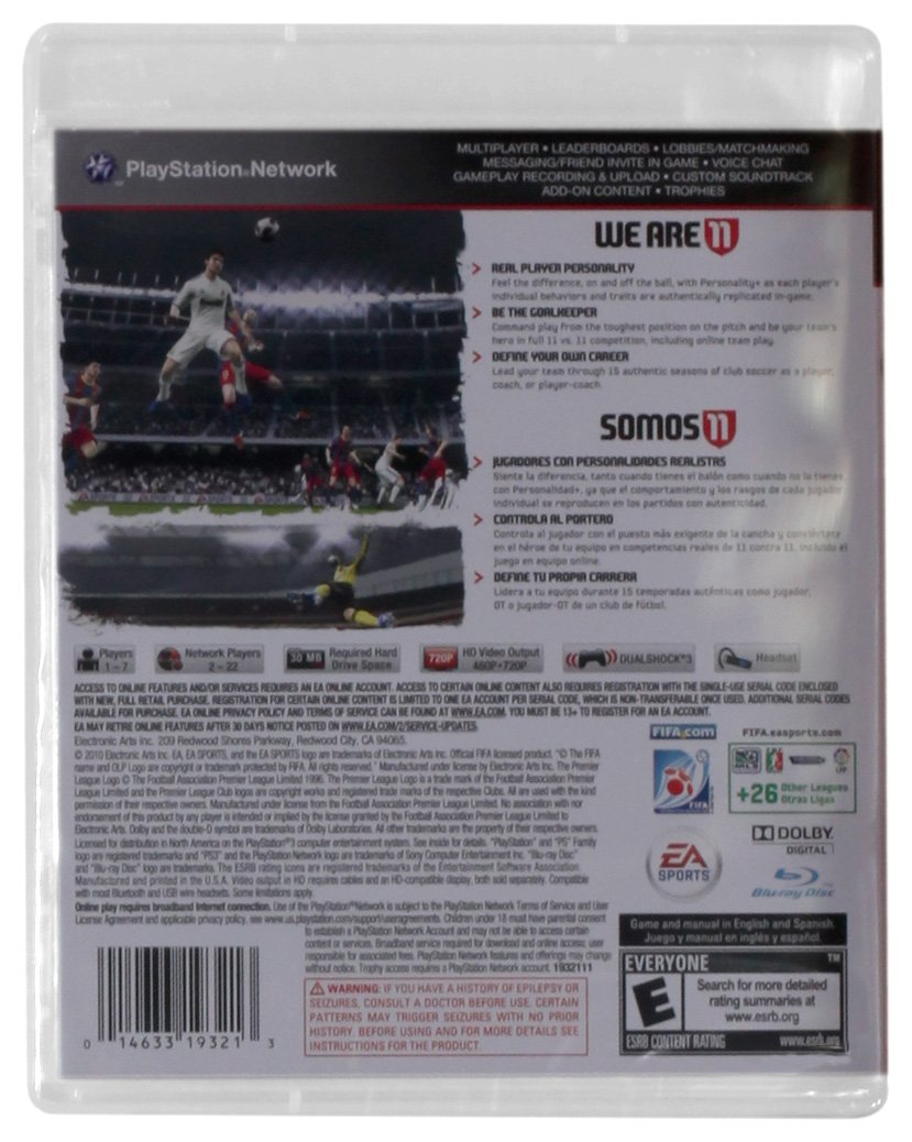 FIFA Soccer 11 - Playstation 3 by Electronic Arts (Image #1)