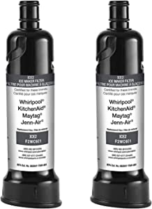 OEM Replacement for Ice Maker Water Filter Whirlpool F2WC9I1 ICE2 for 50 Pound Ice Machines - 2-pack