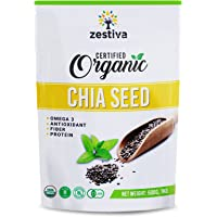 Zestiva Organic Black Chia Seed