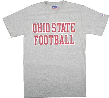 Grey Ohio State Buckeyes Graphic Tee Shirt