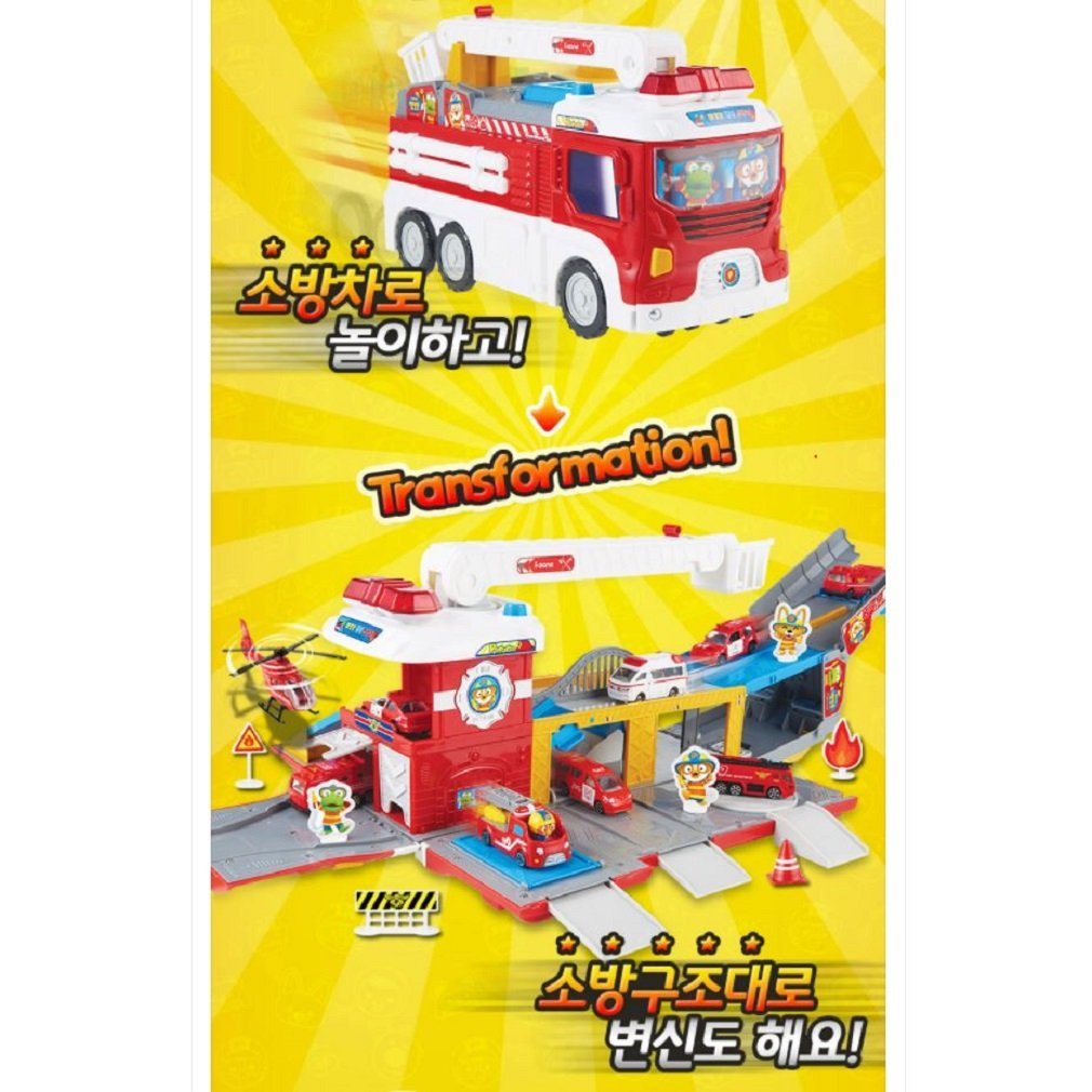 Pororo Transformation Fire Engine(Expedited shipping) by Pororo (Image #4)