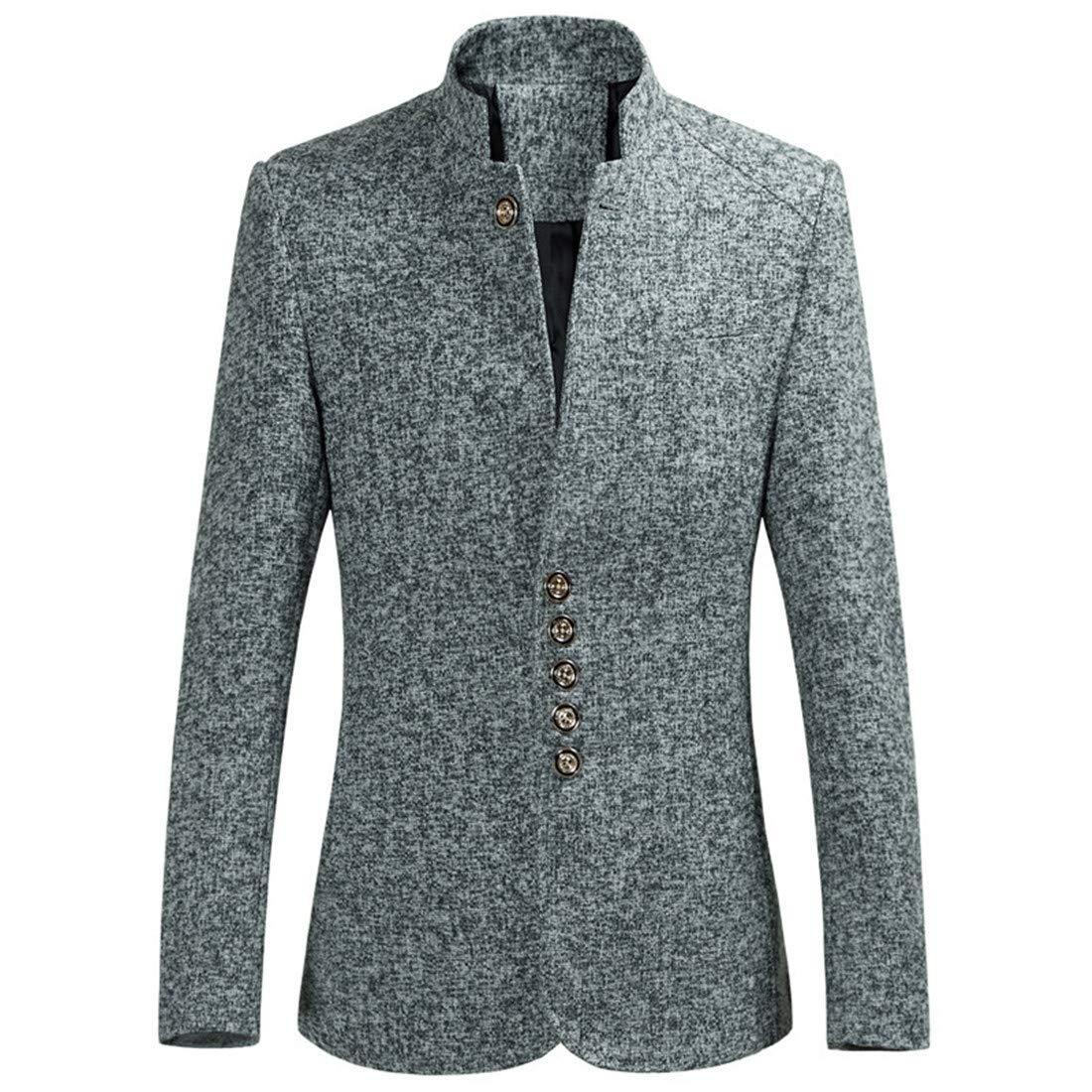 CAI&HONG-GUO GGG Herrenanzug Anzug, Herrenkragen, Anzug, Mantel