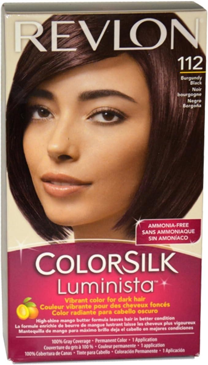 Revlon Colorsilk Luminista 112 Negro coloración del cabello ...