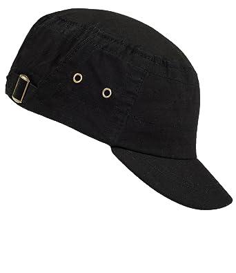 EveryHead Men Urban Cap Gi Teller S Army Cuba Basecap Summer Hat with Visor  One-Tone Elasticated for (PT-8662-S17-HE0) incl Hutfibel 525b7872e11