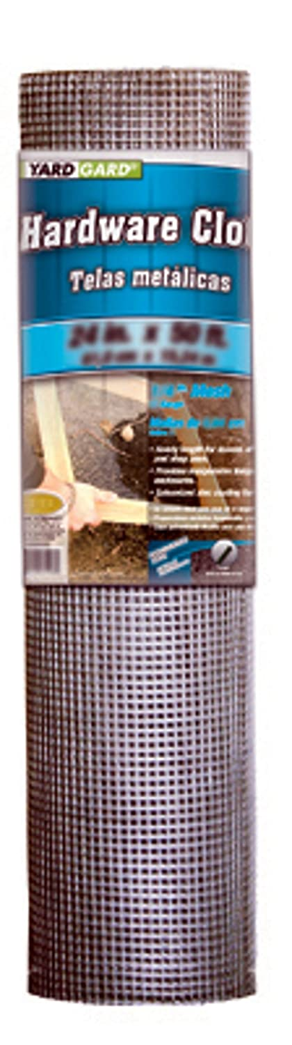 Mat Midwest 308246B 24-Inch-by-100-Foot 1//2-Inch Mesh 19-Gauge Galvanized Hardware Cloth