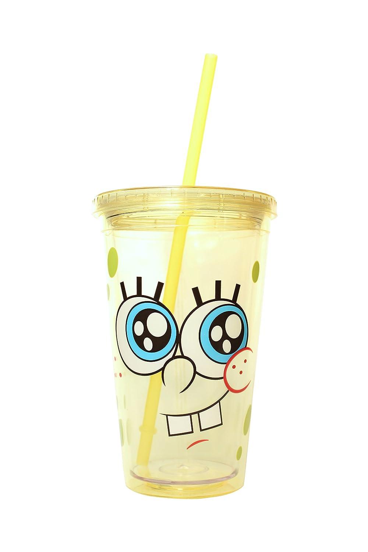 Shot Glasses 14 oz Kitchen & Dining Nickelodeon SG5032 Spongebob Squarepants Cast Under Water Ceramic Mug